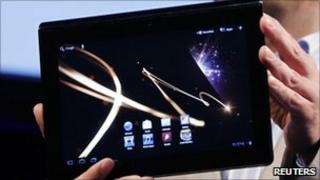 Sony tablet pc