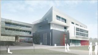 Artist's impression of Birmingham City University's new City Centre Campus