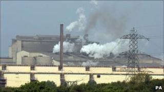 Port Talbot steel works