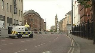 Victoria Street has been closed for the second time