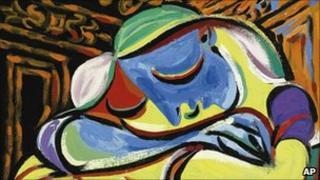 Jeune Fille Endormie, the 1935 Pablo Picasso painting