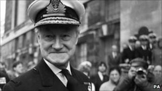 Admiral Sir Henry Leach