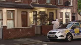 The man's body was found in a house on Burmah Street