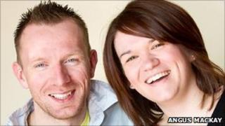 Allan Paul and Jennifer Sutherland. Pic: Angus Mackay