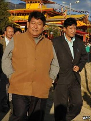 File picture of Dorjee Khandu