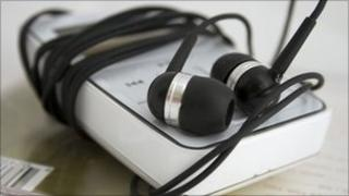 An MP3 player