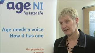 Chief Executive of AGE NI Anne O'Reilly