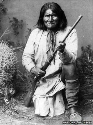 Geronimo, file picture 1887