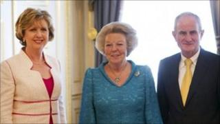 Mary McAleese, Queen Beatrix and Martin McAleese