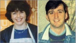 Murder victims Lesley Howell and Colin Buchanan