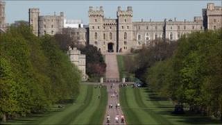 Long Walk in Windsor Great Park
