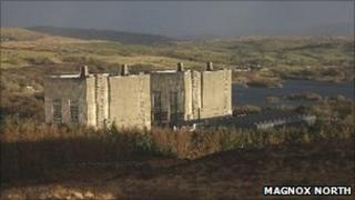 Trawsfynydd nuclear site