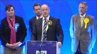 John Swinney's speaking after winning Perthshire North