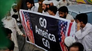 An anti-American rally in Karachi. Photo: 6 May 2011