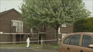 Rooney Park murder scene