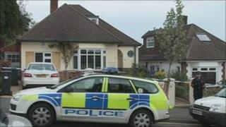The bungalow in Bournemouth where the body was found