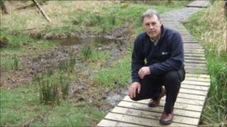 United Utilities manager Paul Philips on Thirlmere footpath