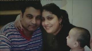 Tariq Hafeez and family
