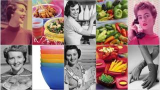 Tupperware and 1950s housewives