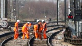 Reducing cable theft is a priority for the rail network