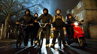 The gang in Attack the Block