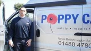 Royal British Legion Poppy Calls Service