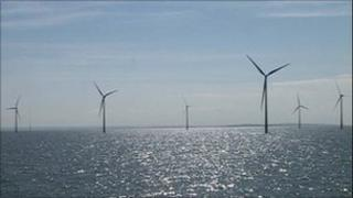 Whitstable wind farm