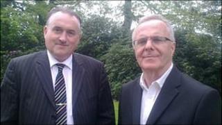 Eamonn MacDermott and Raymond McCartney