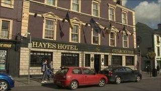 Hayes Hotel (photo courtesy of RTE)