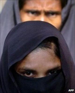 Muslim woman in Bangladesh