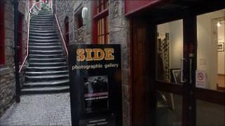 Side Gallery entrance