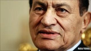 Hosni Mubarak. File photo