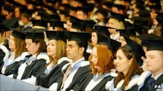 Graduates at Liverpool University