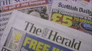 Both The Herald and The Scotsman recorded their poorest average daily sales in decades