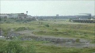 M6 Junction 9 (derelict land, now a retail park)
