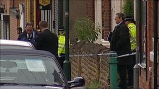 Police at Berridge Road