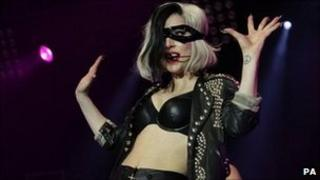 Lady Gaga at BBC Radio One's Big Weekend in Carlisle