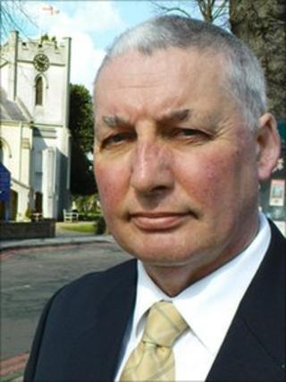 Shirley West Councillor Howard Allen