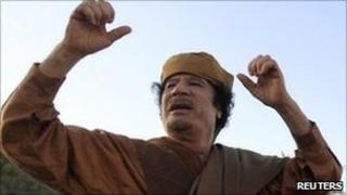 Col Muammar Gaddafi. Photo: April 2011