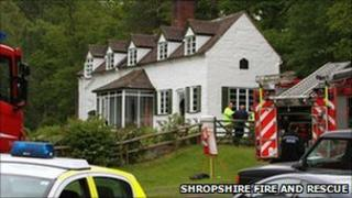 The cottage near Rindleford, near Bridgnorth