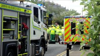 Fountainhall Road crash