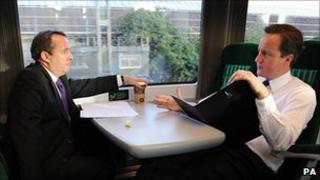 Liam Fox (left) and David Cameron