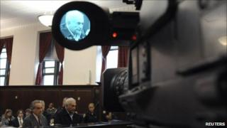 Dominique Strauss-Kahn in Manhattan Criminal Court on 16 May 2011
