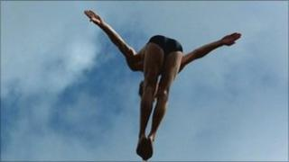 Gary Hunt, Cliff diver