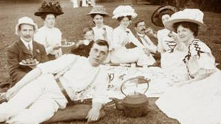 A Victorian picnic: picture courtesy of Shropshire Archive and Wenlock Olympian Society