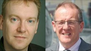 Liberal Democrat AMs John Dixon and Aled Roberts