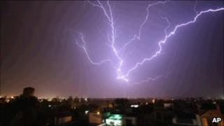 India storm, 9 May 2011