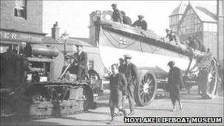 Chapman Arriving at West Kirby on her way to Hilbre Island