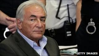 Dominique Strauss-Kahn, at 19 May hearing