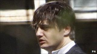 Pete Doherty arrives at Snaresbrook crown court on Friday